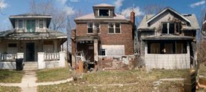 abandoned houses in the D